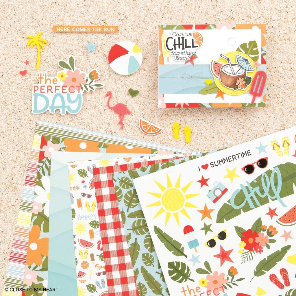 Summer Vibes Scrapbooking Workshop Kit