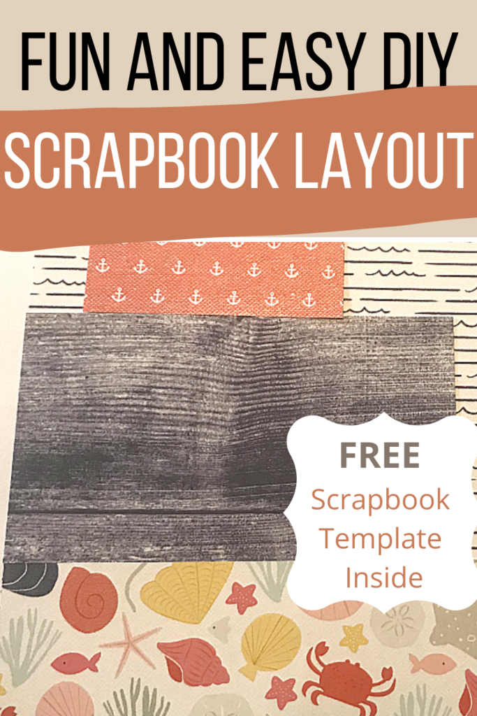 Fun and Easy DIY Scrapbook Layout
