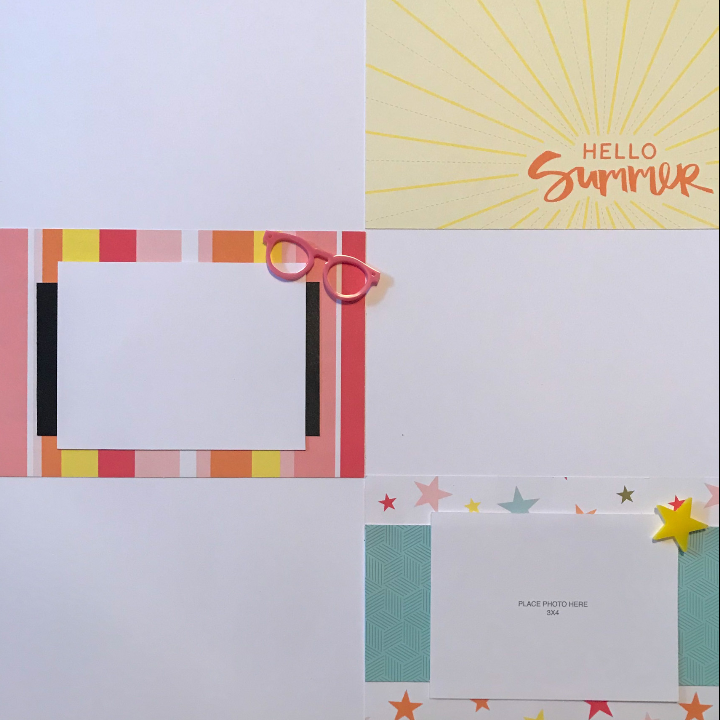 secrets to quick scrapbook layouts