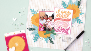 Using a journaling pen on your scrapbook pages