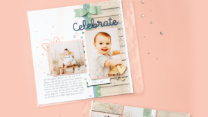 Embellishments are a basic scrapbook supply that you need for scrapbook pages
