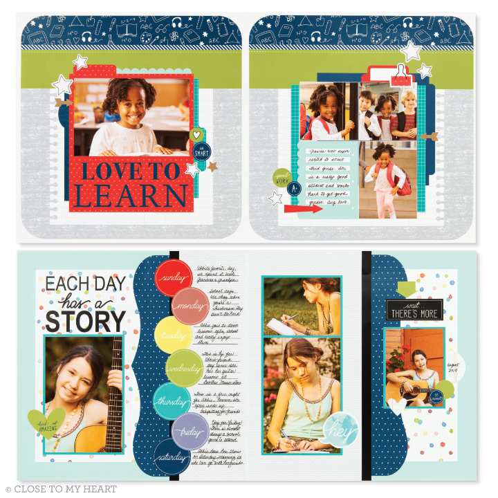 Close to My Heart Monthly Scrapbook Kit Club