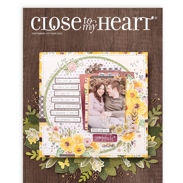 Close to My Heart Catalog with scrapbook kit club