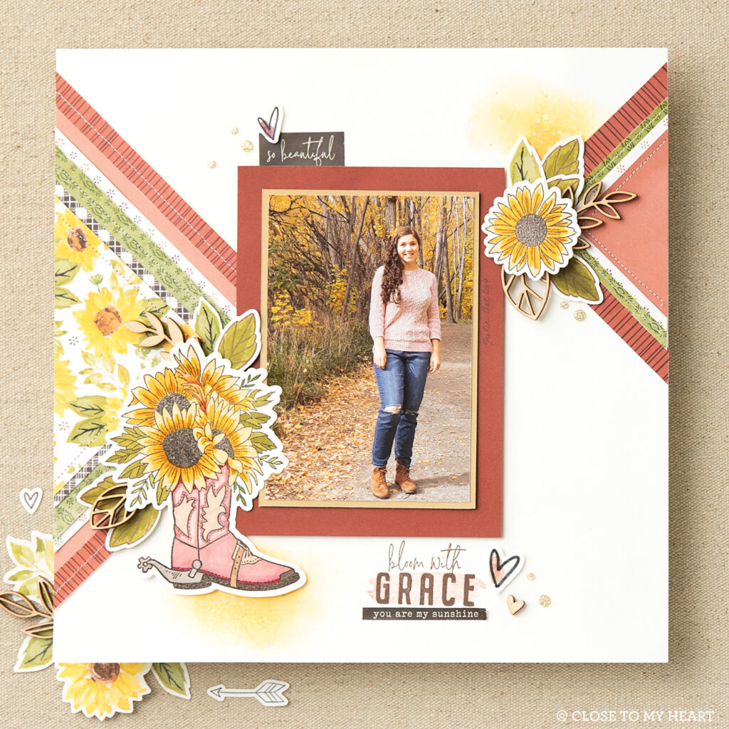 Bloom with Grace Stamps + Thin Cuts