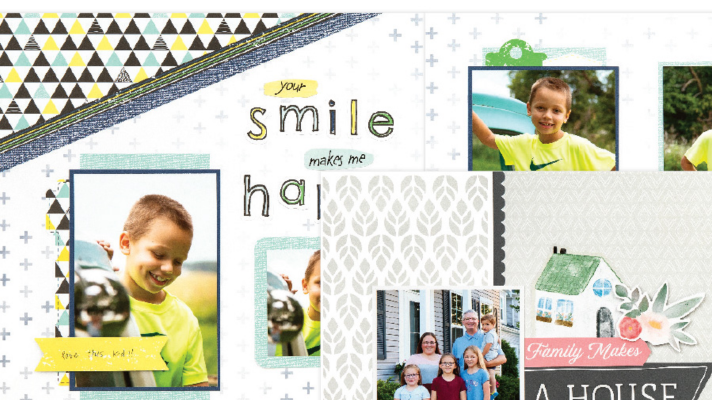 Craft with Heart Scrapbook subscription for 12x12 pages