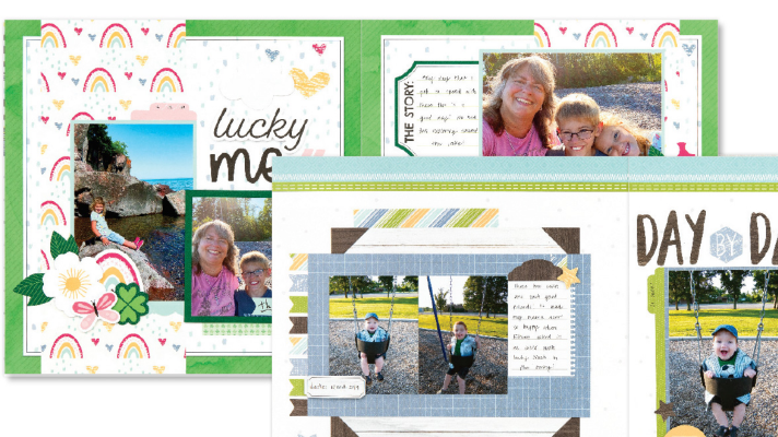 Monthly Scrapbook kit for a subscription