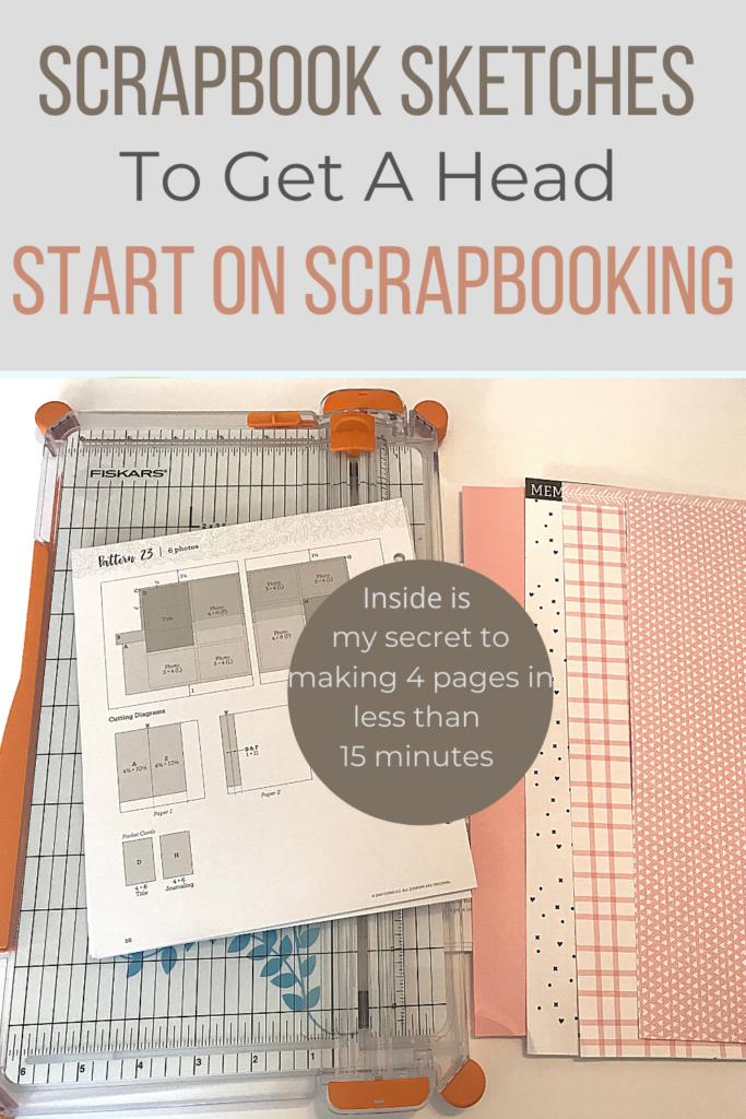 Scrapbook sketches to get a head start on scrapbooking