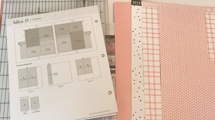 Use the scrapbook sketches to make your scrapbook pages