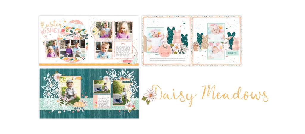 Spring Daisy Meadows Scrapbooking