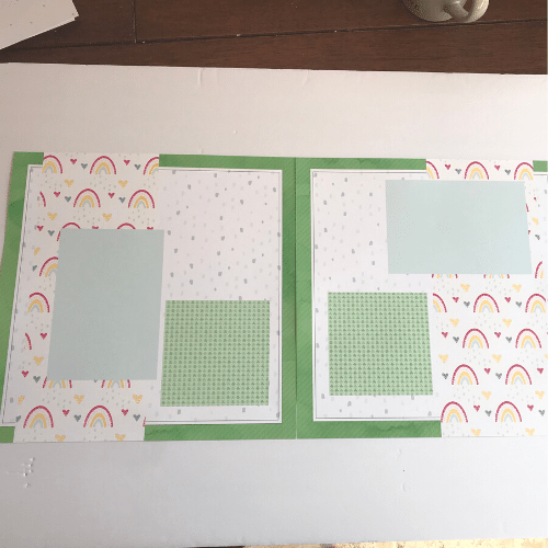 unique scrapbook designs that are ready to be made with the scrapbook kit instructions