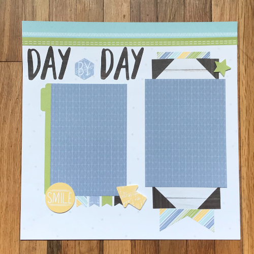 easy trick to scrapbooking more is to use scrapbook kits with instructions