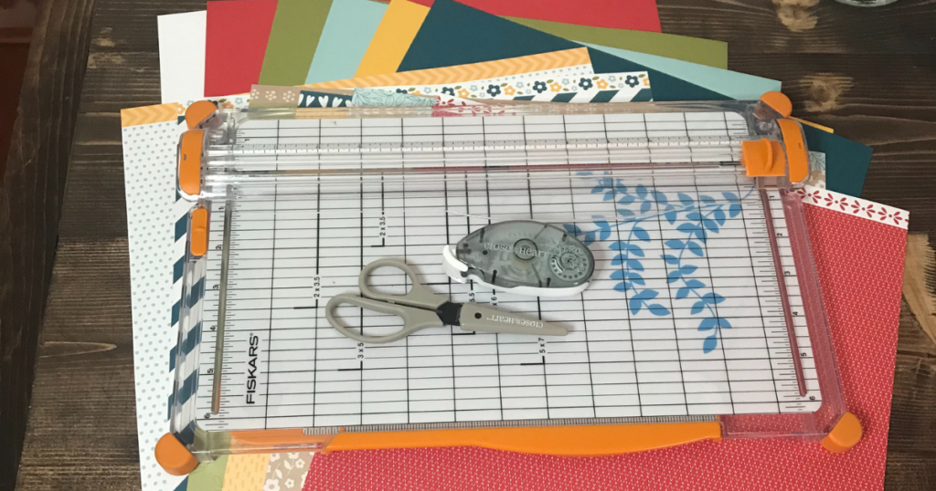 Basic supplies you need to start scrapbooking