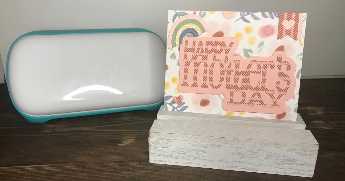 Cricut Mother's Day Greeting Card with Cricut Joy