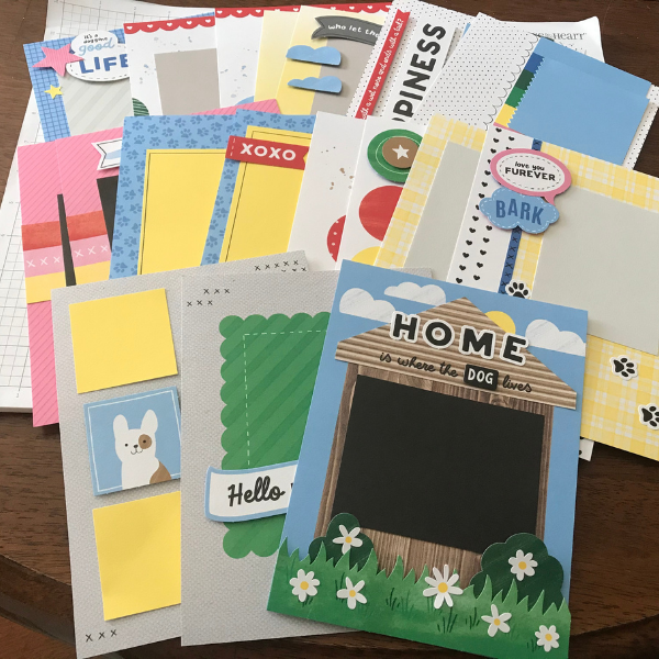 Cutest pet scrapbook ideas and kit