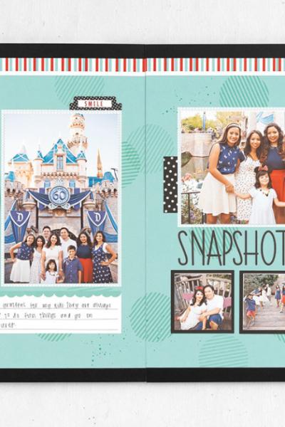 Happy Place Scrapbook Page Ideas (for Treasured Memories)