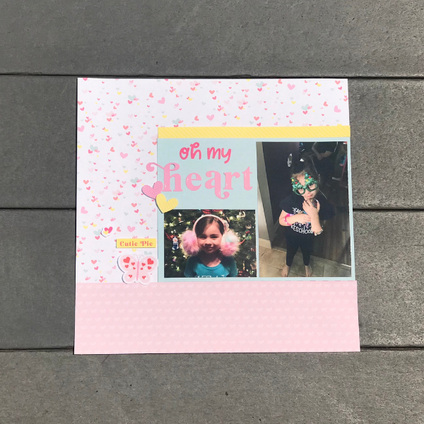 ways to make a scrapbook page in 5 easy steps