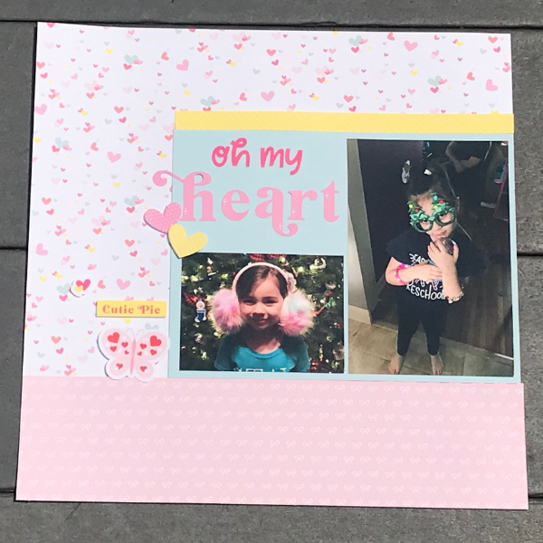how to make a perfect scrapbook page every time for beginners