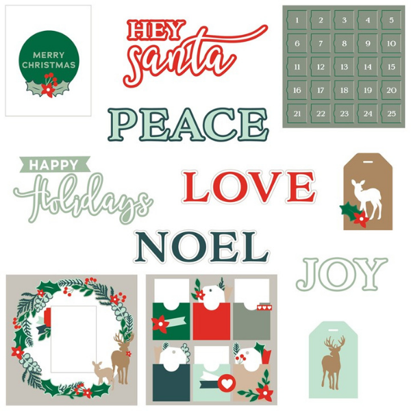 CTMH Holly & Ivy SVG cut files for Christmas