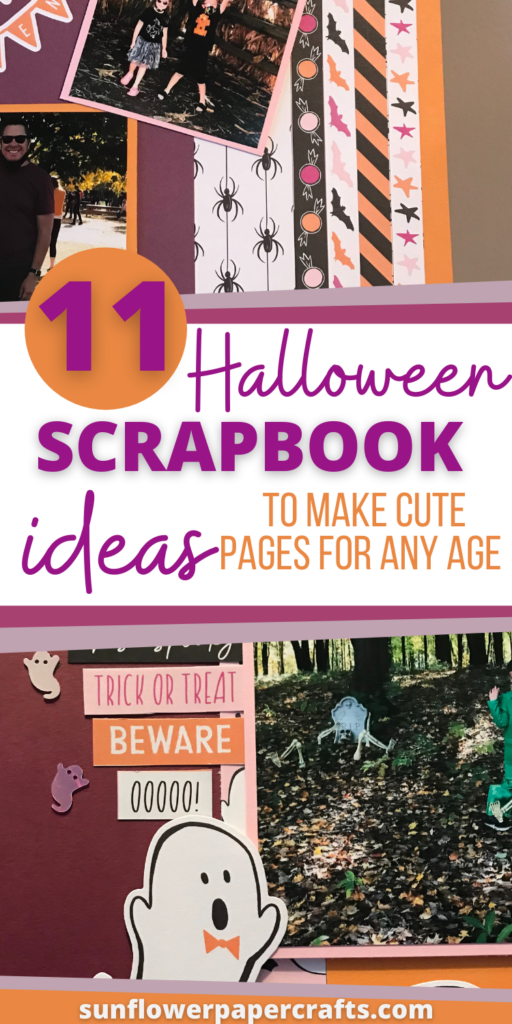 Cute Halloween Scrapbook Ideas