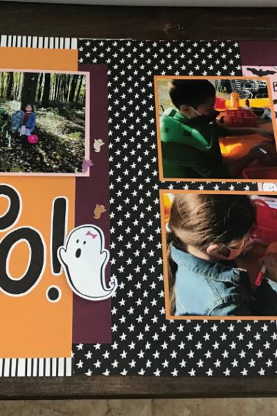 11 Cute Halloween Scrapbook Ideas