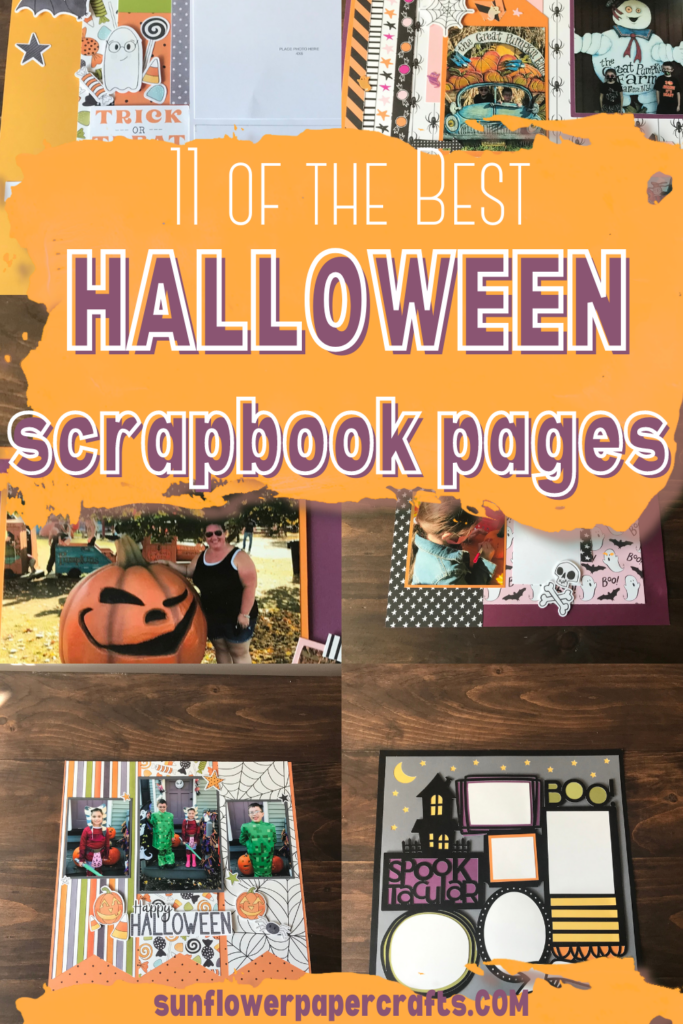 11 of the best Halloween Scrapbook Pages